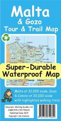 Malta and Gozo Tour and Trail Super-Durable Map - pr_1636