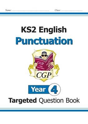 KS2 English Targeted Question Book: Punctuation - Year 4 - pr_17049