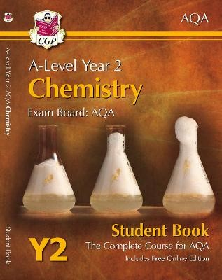 A-Level Chemistry for AQA: Year 2 Student Book with Online Edition - pr_16950