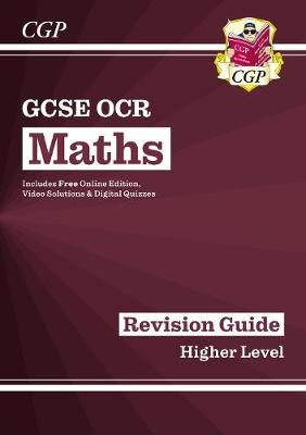 New 2021 GCSE Maths OCR Revision Guide: Higher inc Online Edition, Videos & Quizzes - pr_204240