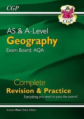 A-Level Geography: AQA Year 1 & 2 Complete Revision & Practice - pr_246646