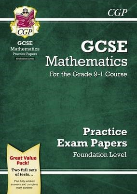 GCSE Maths Practice Papers: Foundation - for the Grade 9-1 Course - pr_209662