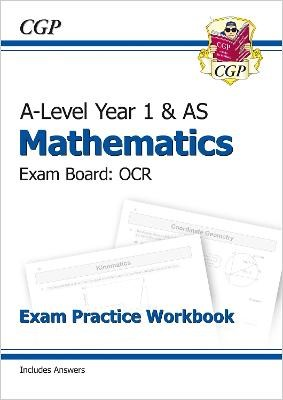 A-Level Maths for OCR: Year 1 & AS Exam Practice Workbook - pr_6701