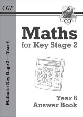 KS2 Maths Answers for Year 6 Textbook - pr_209672