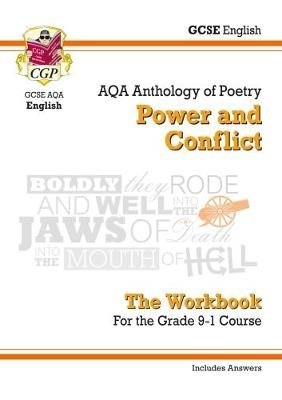 GCSE English Literature AQA Poetry Workbook: Power & Conflict Anthology (includes Answers) - pr_313696