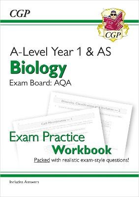 A-Level Biology: AQA Year 1 & AS Exam Practice Workbook - includes Answers - pr_209652