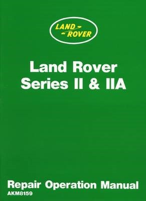Land Rover 2 and 2A Repair Operation Manual - pr_17384