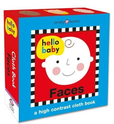 Hello Baby Faces Cloth Book - pr_117983