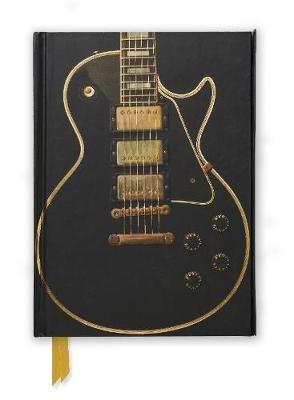 Gibson Les Paul Black Guitar (Foiled Journal) - pr_61361