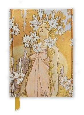 Mucha: The Flowers, Lily (Foiled Journal) -
