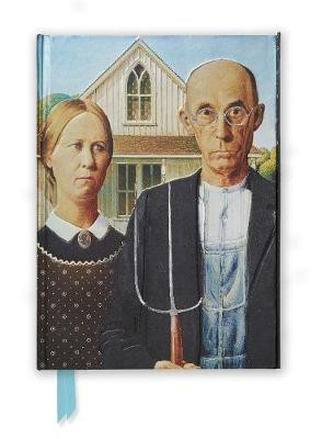 Grant Wood: American Gothic (Foiled Journal) - pr_61351