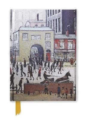 L. S. Lowry: Coming from the Mill (Foiled Journal) - pr_61389
