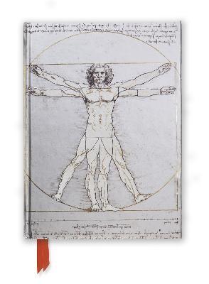 Da Vinci: Vitruvian Man (Foiled Journal) - pr_61345