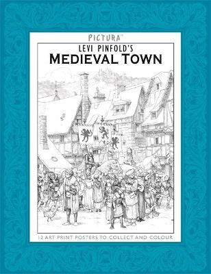 Pictura Prints: Medieval Town -