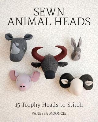 Sewn Animal Heads -