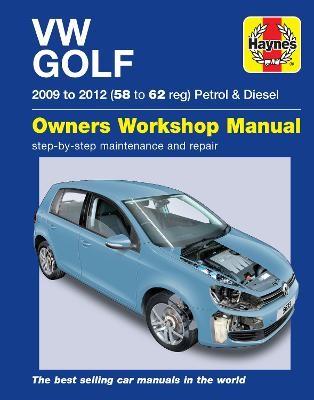 VW Golf Petrol and Diesel (09 - 12) 58 to 62 - pr_266671