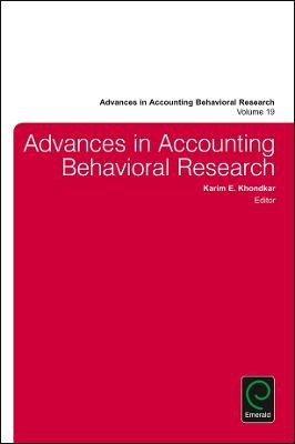 Advances in Accounting Behavioral Research - pr_284380