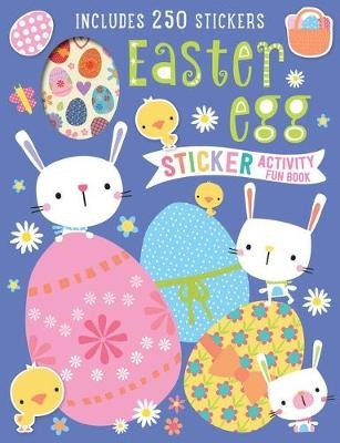 Easter Egg Sticker Activity Fun Book -