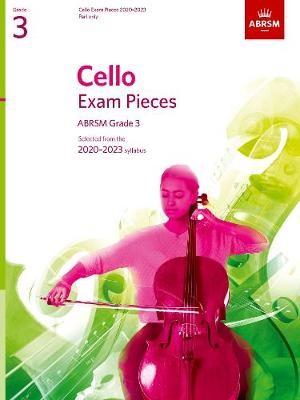 Cello Exam Pieces 2020-2023, ABRSM Grade 3, Part - pr_78859
