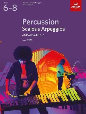 Percussion Scales & Arpeggios, ABRSM Grades 6-8 - pr_423794