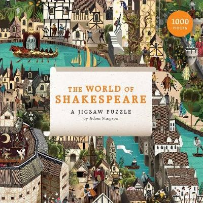 World of Shakespeare, The:1000 Piece Jigsaw Puzzle -
