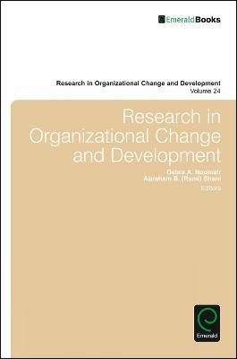 Research in Organizational Change and Development -