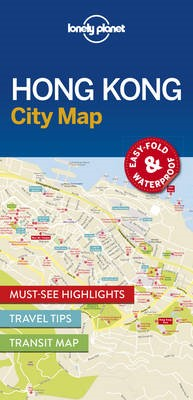 Lonely Planet Hong Kong City Map -