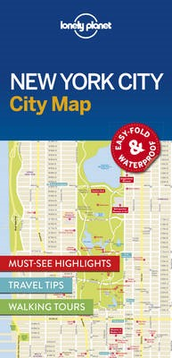 Lonely Planet New York City Map - pr_360029