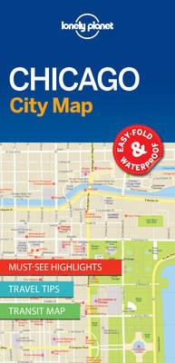 Lonely Planet Chicago City Map - pr_160341
