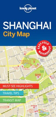 Lonely Planet Shanghai City Map -