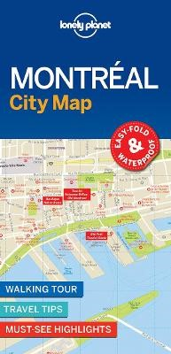 Lonely Planet Montreal City Map - pr_163473