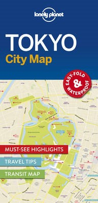 Lonely Planet Tokyo City Map - pr_356402