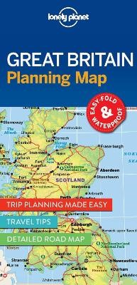 Lonely Planet Great Britain Planning Map - pr_169709
