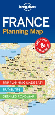 Lonely Planet France Planning Map - pr_152798