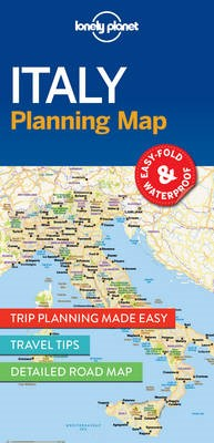 Lonely Planet Italy Planning Map - pr_165297