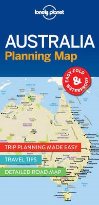 Lonely Planet Australia Planning Map - pr_168441
