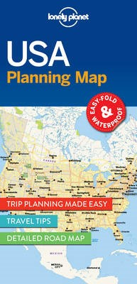Lonely Planet USA Planning Map - pr_164081