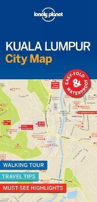 Lonely Planet Kuala Lumpur City Map - pr_171683