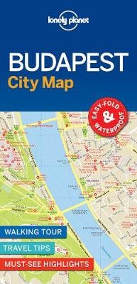 Lonely Planet Budapest City Map - pr_169026