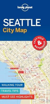 Lonely Planet Seattle City Map - pr_163731
