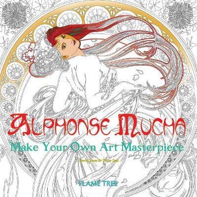 Alphonse Mucha (Art Colouring Book) - pr_61346