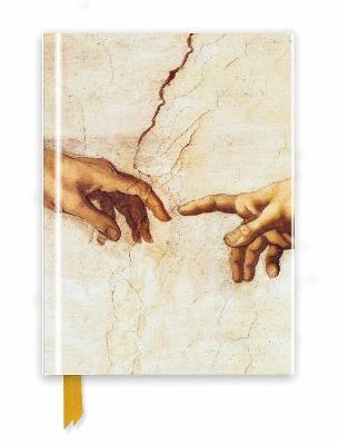 Michelangelo: Creation Hands (Foiled Journal) - pr_259454