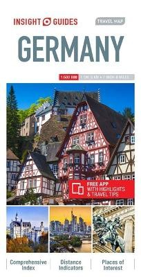 Insight Guides Travel Map Germany - pr_313673