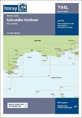 Imray Chart Y44 Salcombe Laminated - pr_220905