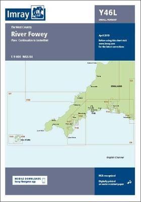 Imray Chart Y46 River Fowey Laminated - pr_220900