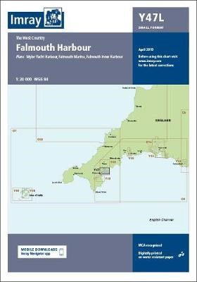 Imray Chart Y47 Falmouth Harbour Laminated - pr_220937