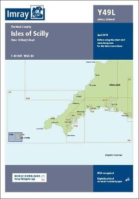 Imray Chart Y49 Isles of Scilly Laminated - pr_220906