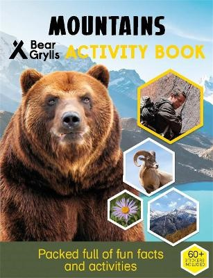 Bear Grylls Sticker Activity: Mountains - pr_62186
