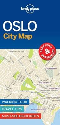 Lonely Planet Oslo City Map - pr_169382