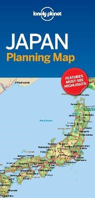 Lonely Planet Japan Planning Map - pr_169458